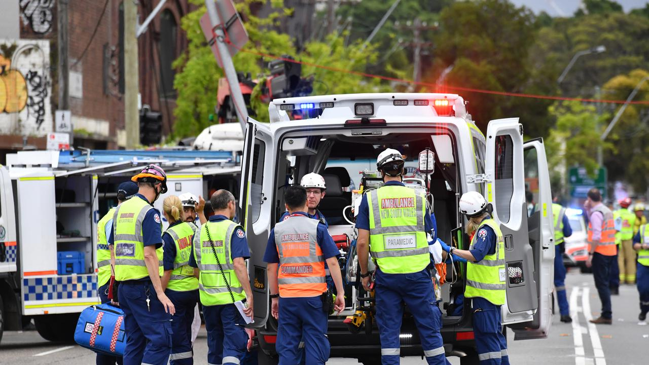 The Health Services Uniom says NSW's paramedics are being underpaid and disrespected.